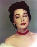 Close Up Portrait of Barbara Rush with Hook Earrings Photo by  Movie Star News