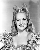 Betty Grable Posed in a Sexy Dress Photo by  Movie Star News