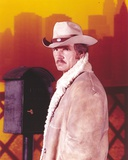 Dennis Weaver Portrait in Brown Jacket Photo by  Movie Star News