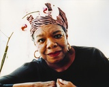 Maya Angelou  1c - Photograph Hollywood Print Photo by  Movie Star News