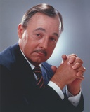 John Hillerman Close Up Portrait Photo by  Movie Star News