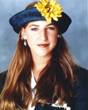 Mayim Bialik Posed in Close-up Portrait Photo by  Movie Star News