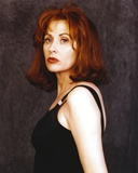 Kate Nelligan In Black With Dark Blue Background Photo by  Movie Star News