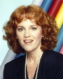 Madeline Kahn smiling in Black Dress Portrait with Necklace Photo by  Movie Star News
