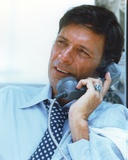 Ron Leibman Talking with Telephone Photo by  Movie Star News