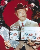 Red Skelton Wacky Pose with Gift boxes in Christmas Theme Portrait Photo af  Movie Star News