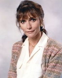 Margot Kidder Posed in White Polo with Floral Sweater Photo by  Movie Star News