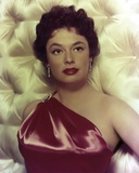 Ruth Roman Close Up Portrait Photo by  Movie Star News