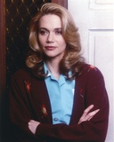 Peggy Lipton Posed with Arms Crossed in Lightblue Polo with Coat Portrait Photo by  Movie Star News