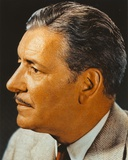Ronald Colman Portrait in Gray Tuxedo Photo by  Movie Star News