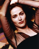 Kim Delaney Leaning in Black Dress Photo by  Movie Star News