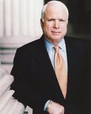 John McCain Posed in Tuxedo Portrait Photo by  Movie Star News