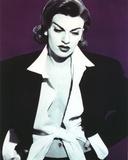 Sandra Bernhard Classic Portrait in Black Coat Photo by  Movie Star News