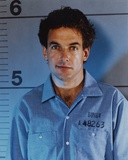 Mark Harmon Portrait in Blue Prison Uniform Photo by  Movie Star News
