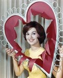 Marlo Thomas smiling in Heart Frame Photo by  Movie Star News