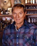 John Cullum Posed in Blue Plaid Jacket Photo by  Movie Star News