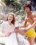 Patrick Duffy Posed in Yellow Swimming Trunks Photo by  Movie Star News