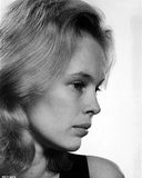 Sandy Dennis Side View Pose Black and White Close Up Portrait Photo by  Movie Star News