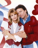 John Ritter hugging a Woman in a Couple Portrait Photo by  Movie Star News