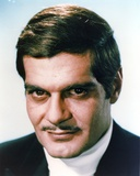 Omar Sharif Portrait in Black Coat Photo by  Movie Star News