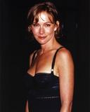 Jennifer Grey smiling in Black Dress Portrait Photo af  Movie Star News