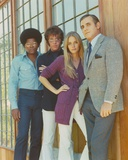 Mod Squad Posed in Group Picture Beside a Glass Window Photo by  Movie Star News