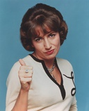 Penny Marshall Posed in White Portrait Photo by  Movie Star News