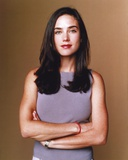 Jennifer Connelly in Gray Sleeveless Portrait Photo by  Movie Star News