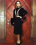 Lizabeth Scott in Black Office Attire Portrait with Black Cap Photo af Movie Star News