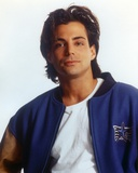 Richard Grieco smiling in Blue Jacket Photo by  Movie Star News