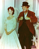 Red Skelton posed with Bride Portrait Photo by  Movie Star News