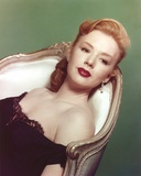 Piper Laurie Lying on Chair wearing Black Dress Portrait Photo by  Movie Star News