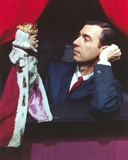Mister Rogers Holding Puppet in Tuxedo Photo by  Movie Star News