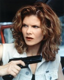 Lolita Davidovich Looking Away with Pistol Close Up Portrait Photo by  Movie Star News