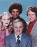 Mod Squad Posed in Group Picture with Blue Background Photo by  Movie Star News