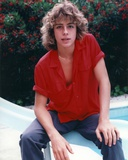 Leif Garrett on a Red Polo sitting Pose Photo by  Movie Star News