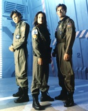 Kristen Cloke Group Picture in Mechanic Uniform Photo by  Movie Star News