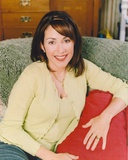 Patricia Heaton posed on the Couch Photo by  Movie Star News