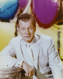 Joseph Cotten Posed wearing White Formal Outfit Photo by  Movie Star News