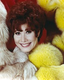 Michele Lee Portrait wearing Black Fur Coat Photo by  Movie Star News