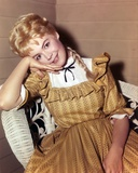 Sandra Dee Posed in Brown Dress Photo by  Movie Star News