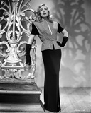 Lizabeth Scott Posed in Long Gown with Gloves Photo af Movie Star News