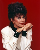 Rita Moreno Posed in White long sleeve Portrait Photo by  Movie Star News
