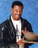 Robert Townsend smiling in Black Leather Jacket Photo by  Movie Star News