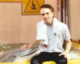 Jonathan Brandis posed with Dolphin Photo by  Movie Star News