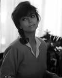 Rachel Ward Looking Away wearing Collared Sweater Black and White Portrait Photo by  Movie Star News