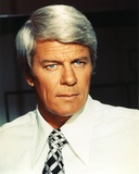 Peter Graves Portrait in White Sleeves Photo by  Movie Star News