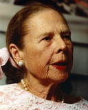 Ruth Gordon Posed in Embroidered Top Photo by  Movie Star News