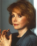 Piper Laurie in Close Up Portrait in Black Formal Coat Photo by  Movie Star News