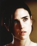 Jennifer Connelly Close Up Portrait in White Round Neck Shirt Photo by  Movie Star News